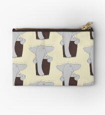 elephants wear corduroy Studio Pouch