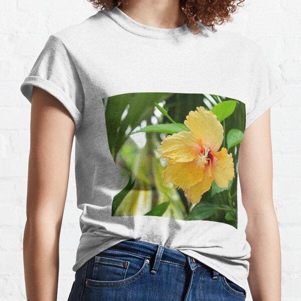Yellow Hibiscus Classic T-Shirt