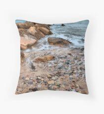 The Edge of the Sea Throw Pillow