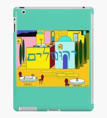 Jerusalem at Hanukkah iPad Case/Skin
