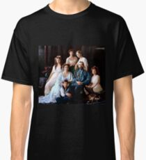 Colorized Romanoff Family Portrait 1913-14 Classic T-Shirt