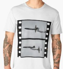 Two Shot-Canberra,Meteor,Vampire Formation,Temora 2008 Men's Premium T-Shirt