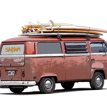 Surf Safari in a VW Kombi by quentin23