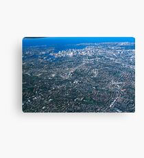 Aerial Photo-Sydney,Australia 2000 Canvas Print