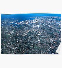 Aerial Photo-Sydney,Australia 2000 Poster