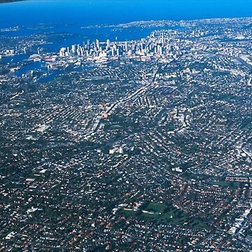 Aerial Photo-Sydney,Australia 2000 by muz2142