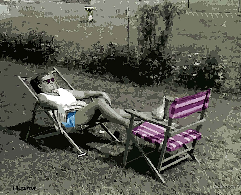 Sunbather by hickerson
