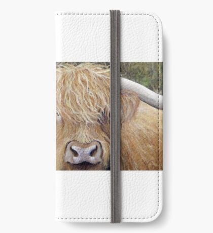 Hamish the Highland Coo iPhone Wallet