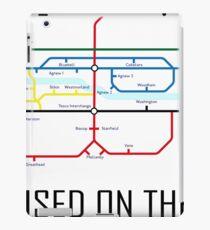 Newton Aycliffe - Born & Raised (Tube Style Map) - Central iPad Case/Skin