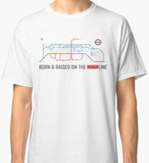 Newton Aycliffe - Born & Raised (Tube Style Map) - Shafto/Middridge Classic T-Shirt