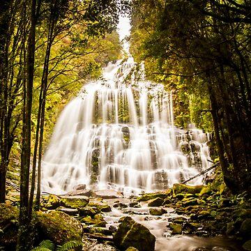 Tasmanian Waterfalls by jorgophotograph