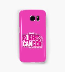 I Can Fight BREAST CANCER Real CAT Fans Wear Pink  Samsung Galaxy Case/Skin