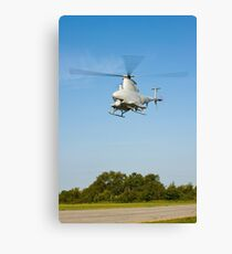 An MQ-8B Fire Scout unmanned aerial vehicle. Canvas Print