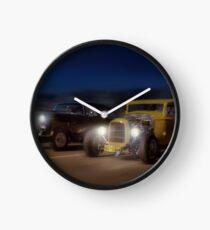 American Graffiti Clock