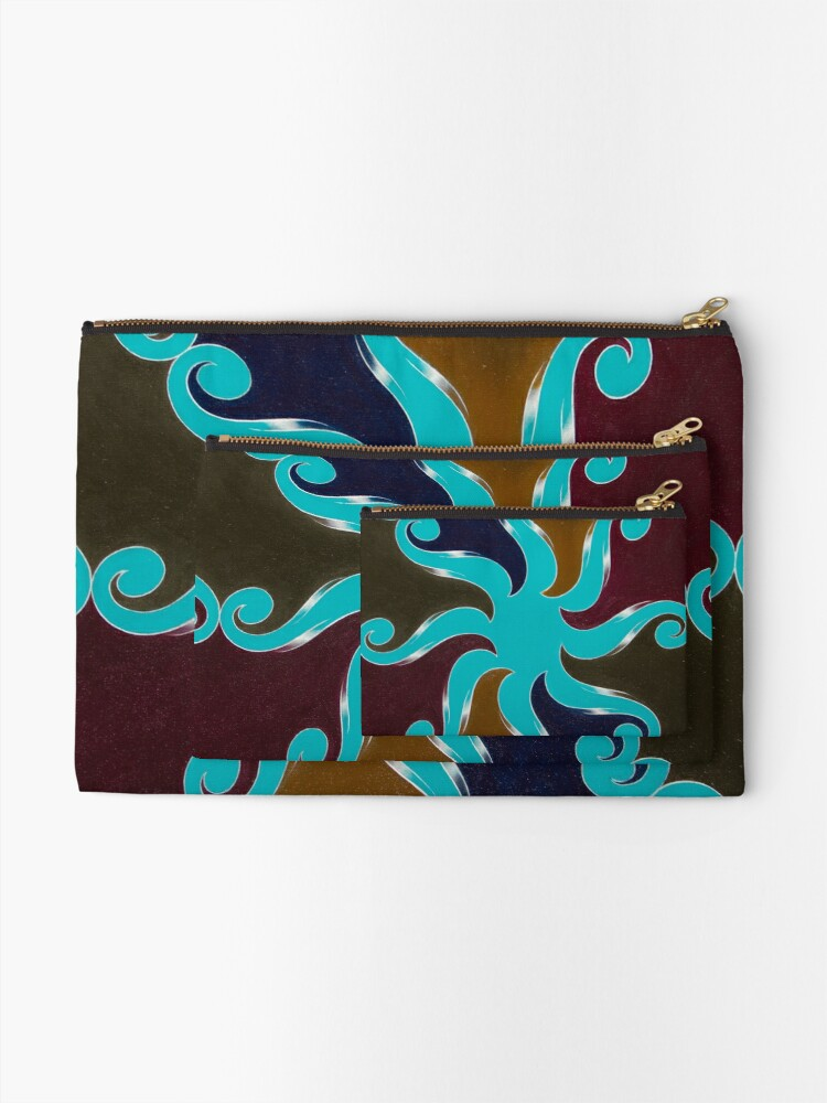 Alternate view of Points Of Return, No. 1 Zipper Pouch