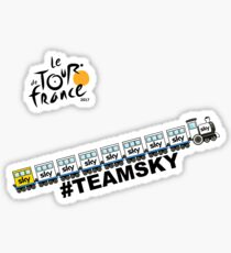 Team Sky Train Sticker