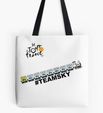 Team Sky Train Tote Bag