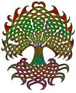 Celtic Knot Tree of Life by Carrie Dennison