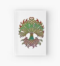 Celtic Knot Tree of Life Hardcover Journal