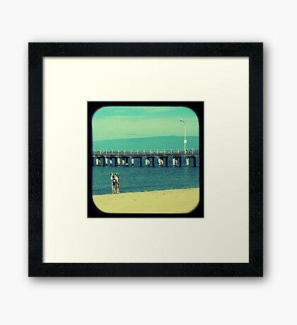 Little Nippers Framed Print