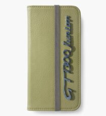 Alfa Romeo GT 1300 Junior Badge iPhone Wallet/Case/Skin