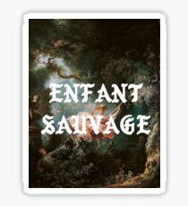 Enfant Sauvage // Wild child Sticker