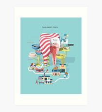 Your sweet tooth Art Print