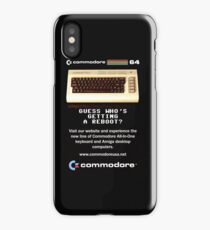 Commodore 64 Retro Computer iPhone Case/Skin