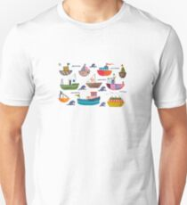 So many boats! Unisex T-Shirt