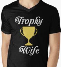Trophy Wife  Men's V-Neck T-Shirt