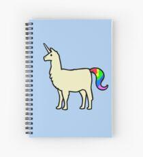 Cuaderno de espiral Llamacorn