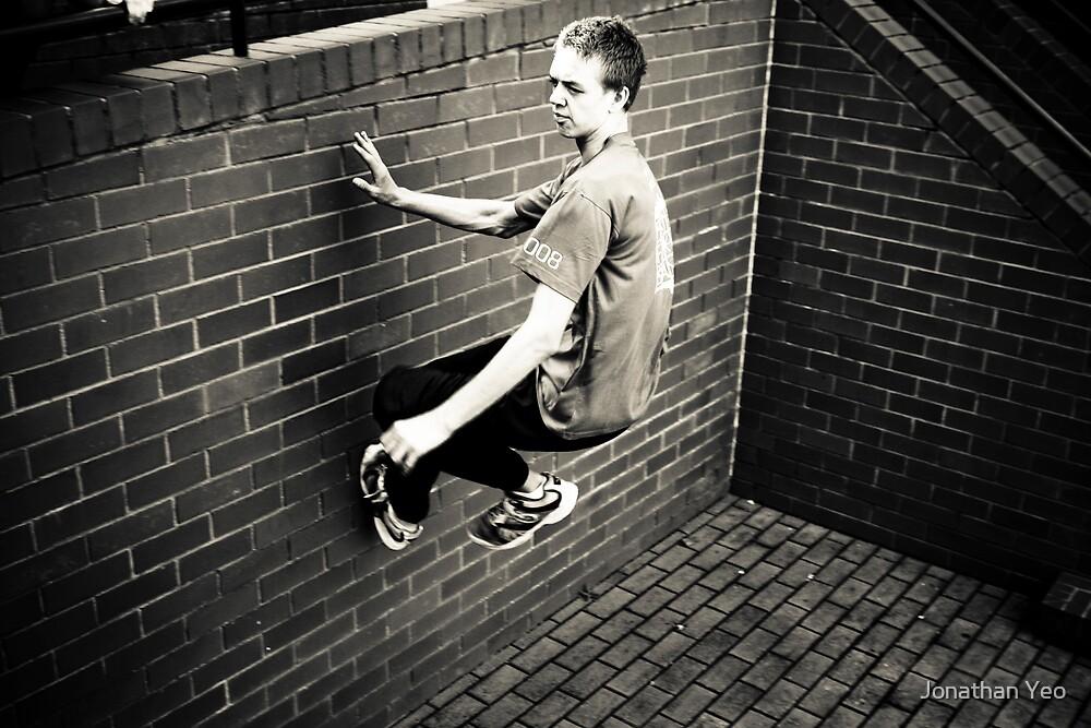 Walking on Walls by Jonathan Yeo