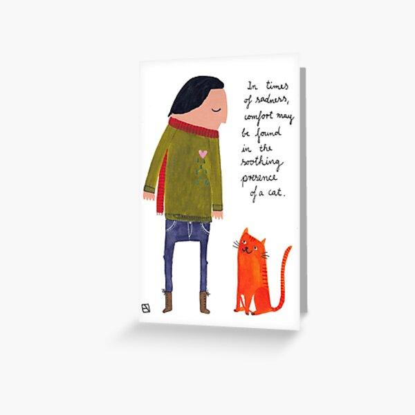 Benefits of a Cat Grußkarte