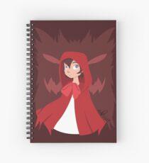 Little Red Spiral Notebook