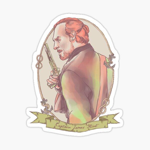 Captain Flint Sticker