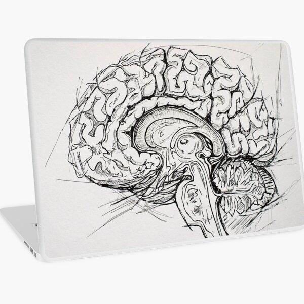 Brain Laptop Skin