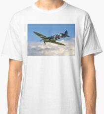 Spitfire T.9 MJ627/9G-P G-BSMB departing Classic T-Shirt