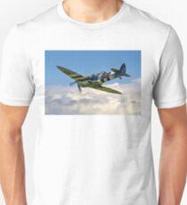 Spitfire T.9 MJ627/9G-P G-BSMB departing T-Shirt