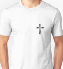 cross on my heart Unisex T-Shirt