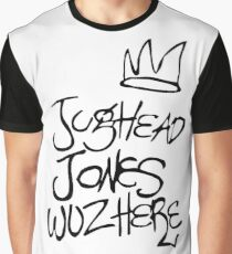 Riverdale - Jughead Jones Wuz Here (Black version) - Archie Comics Graphic T-Shirt