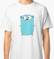 Camiseta clásica Go Golang Gopher