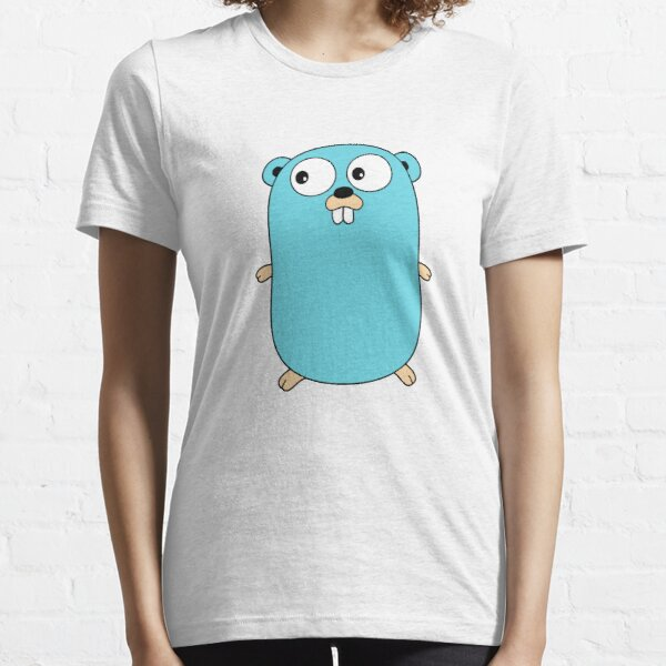Go Golang Gopher Essential T-Shirt