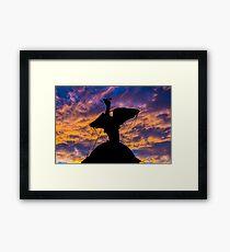 Liver Bird Framed Print