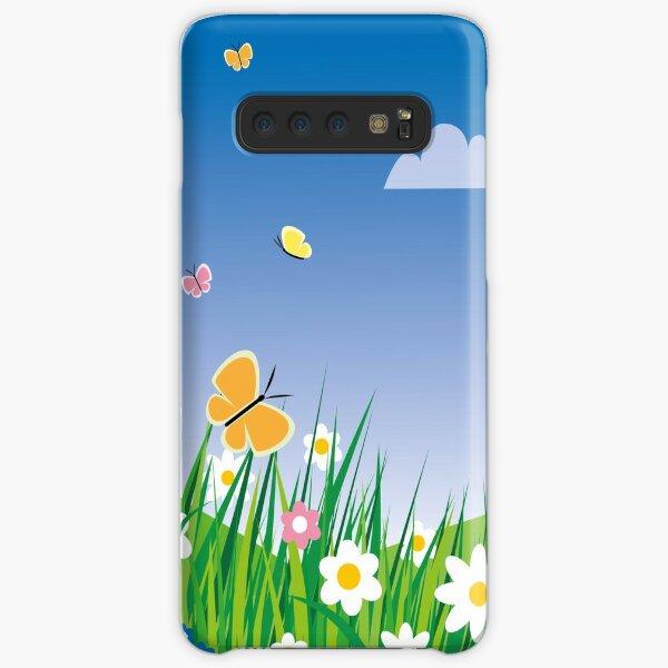 Blumenwiese Samsung Galaxy Leichte Hülle