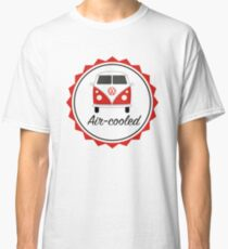 Red VW Camper split screen air-cooled Classic T-Shirt