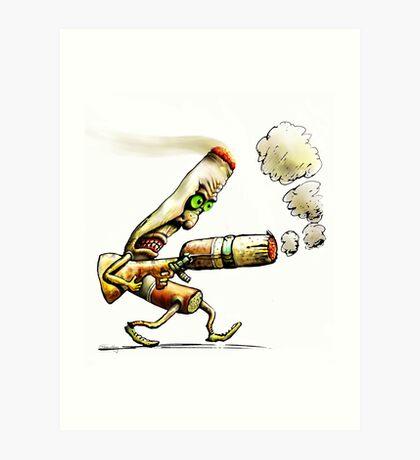 Cigarettes Can Kill Art Print