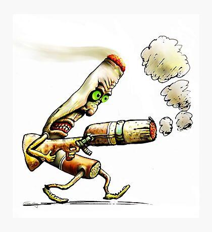 Cigarettes Can Kill Photographic Print