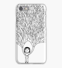 VeeMee tree girl iPhone Case/Skin