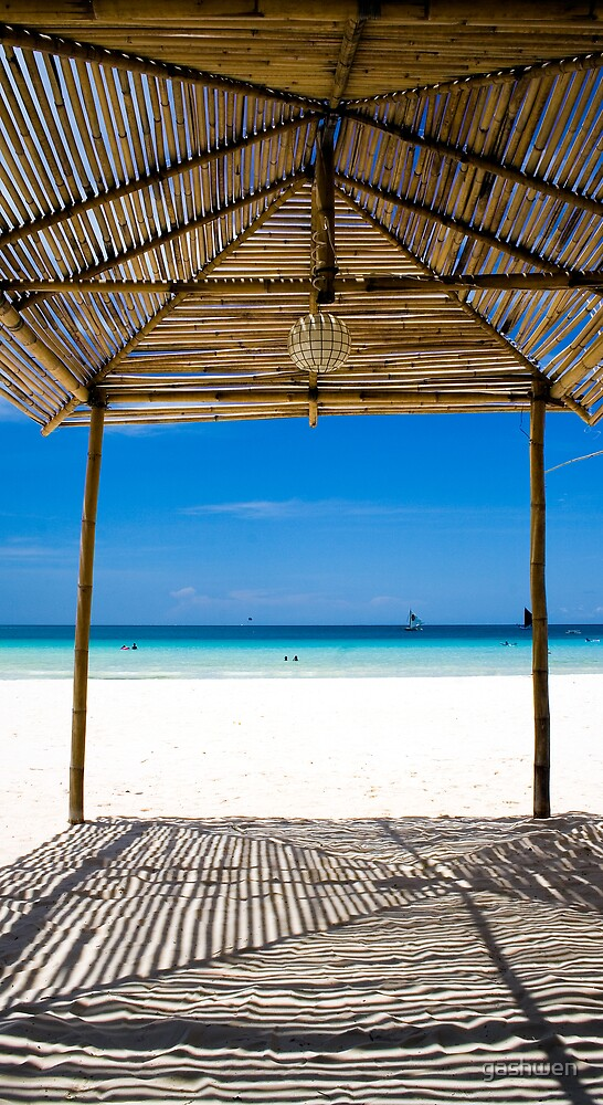 Tropical Hut by gashwen