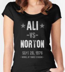 Ali vs Norton Women's Fitted Scoop T-Shirt